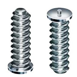 Coarse threaded stud for CD- stud welding
